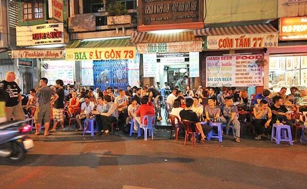 'Ngã tư quốc tế' giữa Sài Gòn