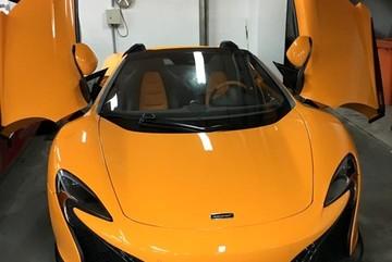 Siêu xe McLaren 650S Spider đầu tiên về Việt Nam