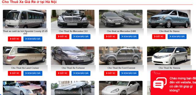 Càng giáp Tết, giá thuê ô tô càng 'chát'