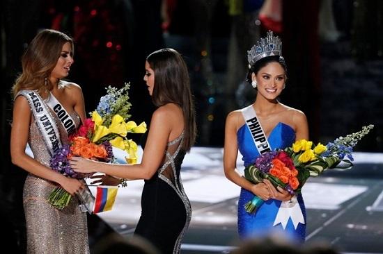 Hoa hậu Hoàn Vũ, Pia Wurtzbach, Hoa hậu Ấn Độ, Ariadna Gutierrez, Vietnamnet.