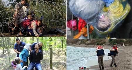 10 bức ảnh nhói lòng về khủng hoảng di cư