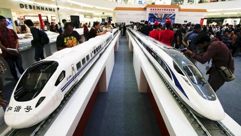 Trung Quốc, Nhật, Con đường tơ lụa trên biển, tham vọng, dự án đường sắt, Indonesia
