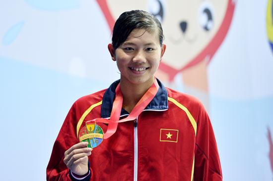 Ánh Viên, VĐV tiêu biểu 2015, kình ngư Ánh Viên, bơi lội Việt Nam, kỷ lục gia Ánh Viên