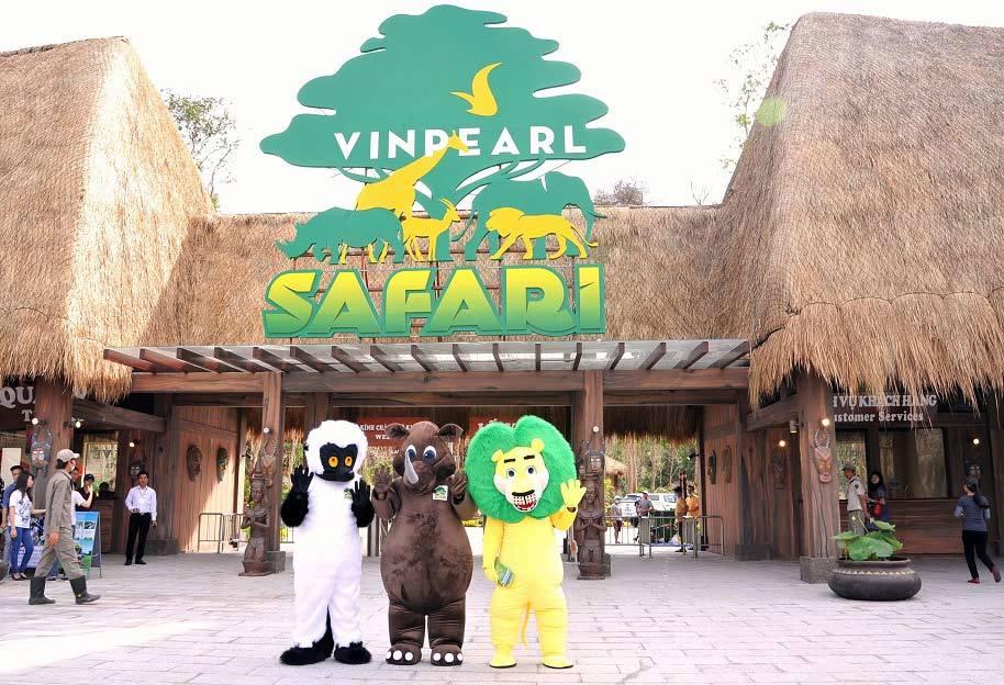 công viên động vật, Vinpearl Safari, Phú Quốc, vietnamnet