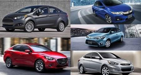 Với 600 - 700 triệu nên chọn xe sedan hạng B nào?