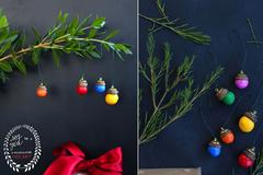 Tự trang trí cây thông Noel với 12 ý tưởng không đụng hàng