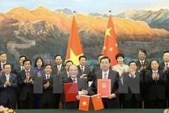 Ký kết thỏa thuận hợp tác giữa Quốc hội VN và TQ