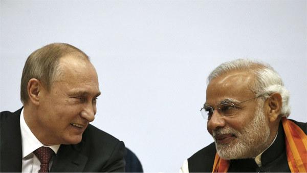 Nga, Ấn Độ, Putin, Modi, ca ngợi, thỏa thuận, hợp đồng, hợp tác, danh dự, hội đồng bảo an, ứng viên