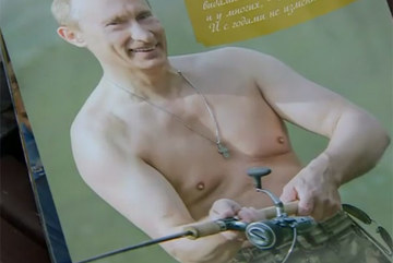 """Putin xuất hiện """"muôn hình muôn vẻ"""" trên lịch Nga"""