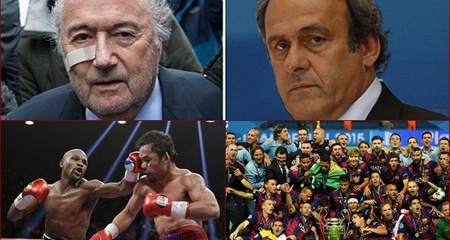 10 sự kiện thể thao thế giới nổi bật 2015