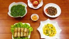 Bữa cơm chiều ấm áp cho cả nhà
