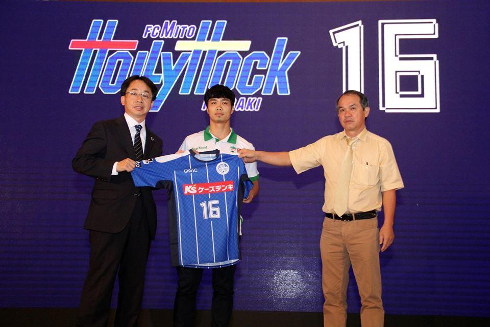 Công Phượng, Nhật Bản, chuyển nhượng, HAGL, Mito Hollyhock, V-League