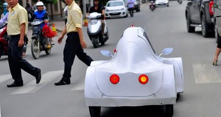 Siêu xe chạy 200km hết 1 lít cồn ở Đồng Nai