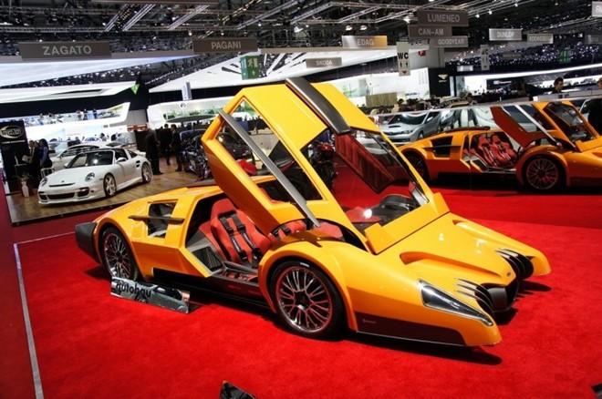 15 chiếc xe kỳ quặc nhất thế giới
