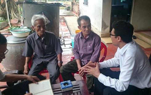 Ông Huỳnh Văn Nén làm đơn xin tạm ứng 1 tỷ vụ oan sai