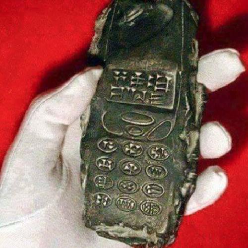 """Phát hiện 'điện thoại cục gạch"""" từ thế kỷ 13 trước Công nguyên"""