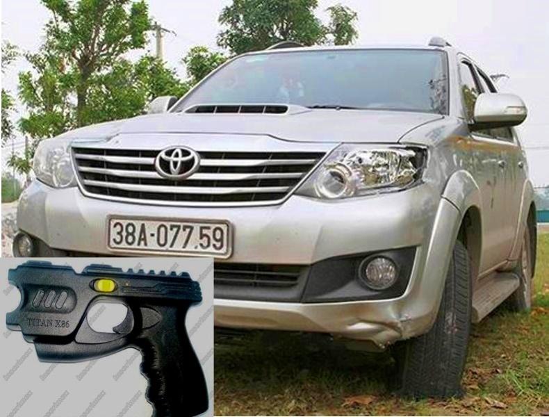 Gây tai nạn bỏ trốn, Giám đốc DN rút súng dọa dân