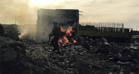 Hình ảnh 'Ngày tận thế' hãi hùng ở nơi IS rút chạy