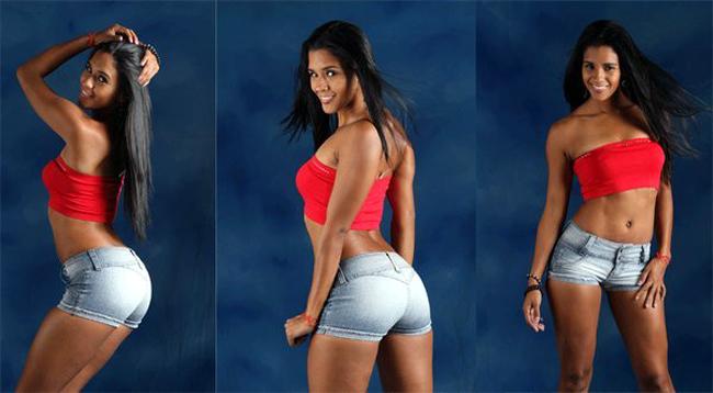 Nữ VĐV bóng chuyền nóng bỏng Peru