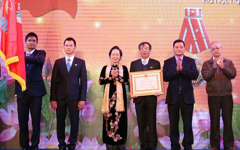 huân chương lao động hạng nhất, phó chủ tịch nước Nguyễn Thị Doan, báo chí