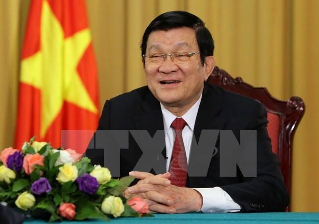 Chủ tịch nước Trương Tấn Sang, tham nhũng, lãng phí, nhân sự, chủ quyền