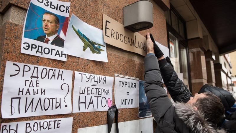 trừng phạt, cấm vận, Thổ Nhĩ Kỳ, Kremlin, rơi máy bay Nga, Su-24, Syria, Gazprom, Vladimir Putin, IS, nhà nước Hồi giáo, phiến quân
