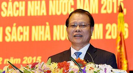 Phó Thủ tướng Vũ Văn Ninh: 'Chi tăng nhanh quá'