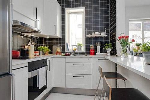 thiết kế phòng bếp, phong thủy nhà bếp, căn hộ chung cư