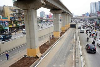 Hầm chui ở ngã tư lớn nhất Hà Nội trước ngày thông xe
