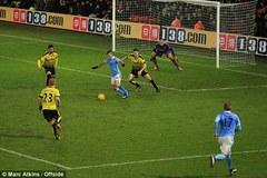Highlighs: Watford 1-2 Man City