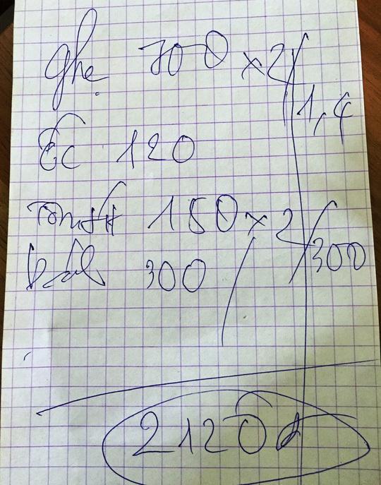 Chặt chém Vũng Tàu: Con ghẹ giá 700 ngàn