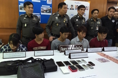 5 du khách Việt ăn cắp ở Thái Lan bị bắt