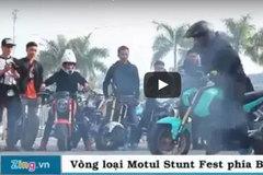 Màn trình diễn xe mạo hiểm của các biker trẻ tại Hà Nội