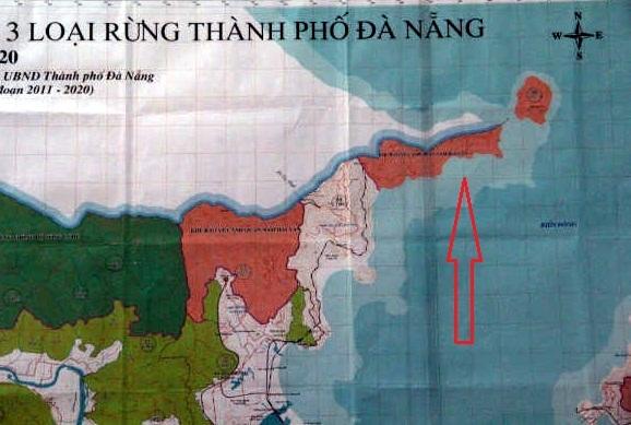 công trình trái phép, rừng Hải Vân, núi Hải Vân, Hải Vân