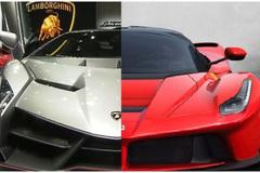 Lamborghini vs Ferrari: Khi 'Bò rừng' đòi cưỡi 'Ngựa hoang'
