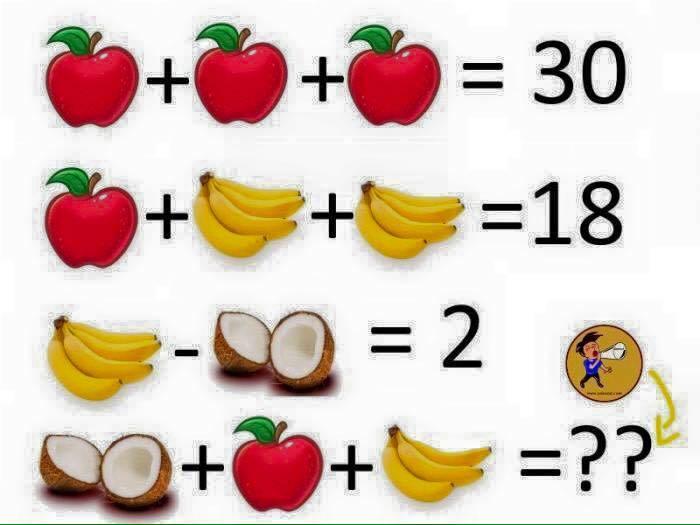 bài toán, toán mẹo, giải toán