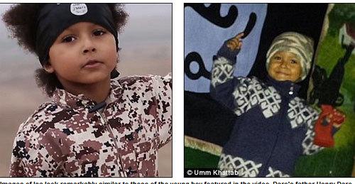 Thân phận bé trai trong clip ớn lạnh của IS