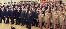 Bức ảnh hé lộ thay đổi trong chính quyền Triều Tiên