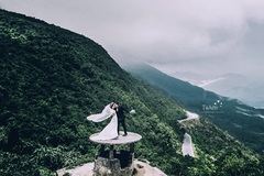 Cặp đôi chi 250 triệu, đi 12 ngày đêm, chụp 10.000 tấm ảnh cưới xuyên Việt