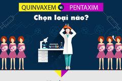 Tiêm vắc xin Quinvaxem hay Pentaxim tốt hơn?