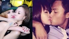 Những nụ hôn làm 'dậy sóng' của Bà Tưng, Chi Pu