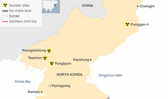Triều Tiên thử bom nhiệt hạch, gây động đất diện rộng