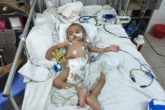 Thương bé mắc bệnh xoắn ruột khó mong có 20 triệu đồng