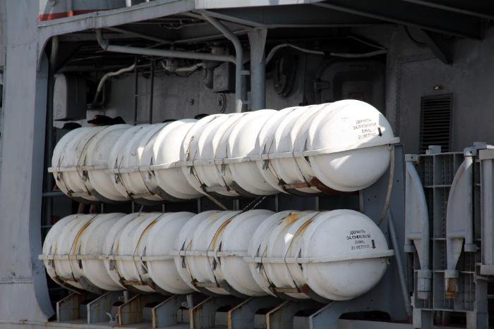 Khí tài khủng trên chiến hạm Nga thăm Đà Nẵng