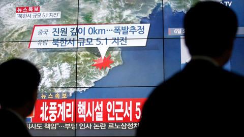 Triều Tiên, Hàn Quốc, châu Á, Đông Bắc Á, Nhật Bản, Trung Quốc, Mỹ, bom hạt nhân, bom nhiệt hạch, thử nghiệm, chấn động, phản ứng, động đất, địa chấn