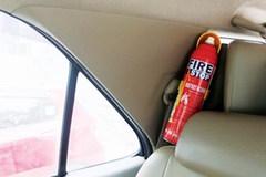 'Loạn' bình chữa cháy mini lắp trên ô tô