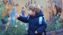 Ngày đầu tiên đến trường của hoàng tử bé nước Anh