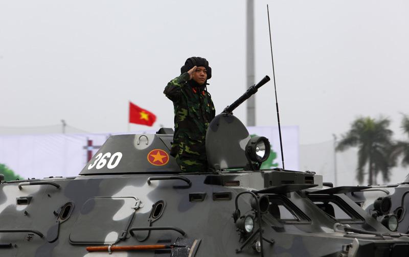 tổng duyệt, diễu binh, bảo vệ Đại hội Đảng