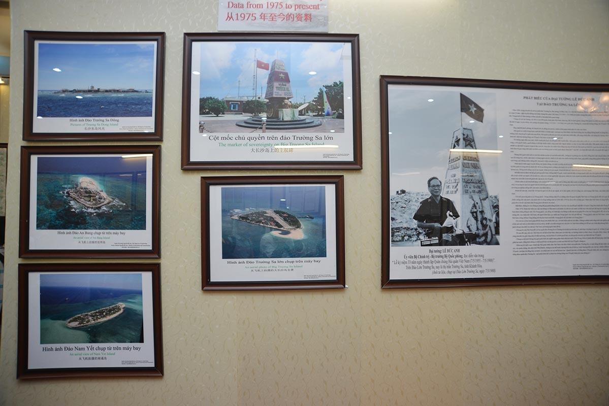 Hoàng Sa, Trường Sa, Bộ trưởng, bảo vệ biển đảo chủ quyền, tư liệu chủ quyền