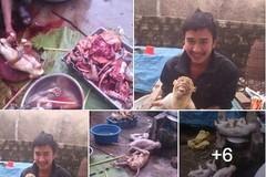 Xác định đối tượng chụp ảnh giết khỉ đăng trên facebook